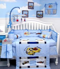 Car Crib Bedding - Totally Kids, Totally Bedrooms - Kids ...