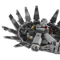 LEGO 7965 Star Wars Millennium Falcon 1254 Pieces Set New ...