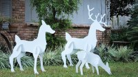 Reindeer Outdoor Yard Displays | Christmas Wikii
