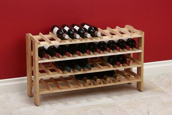 Seville Classics 40 Bottle Wine Rack