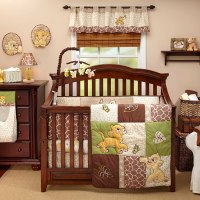 Lion King Go Wild Baby Bedding and Decor - Baby Bedding ...