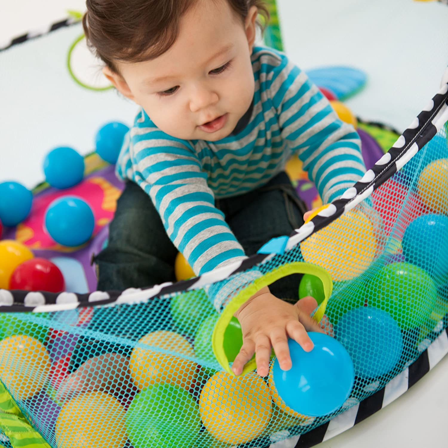 Infantino Baby Activity Center Gym Ball Pit Play Exercise Mat Infant Toddlers