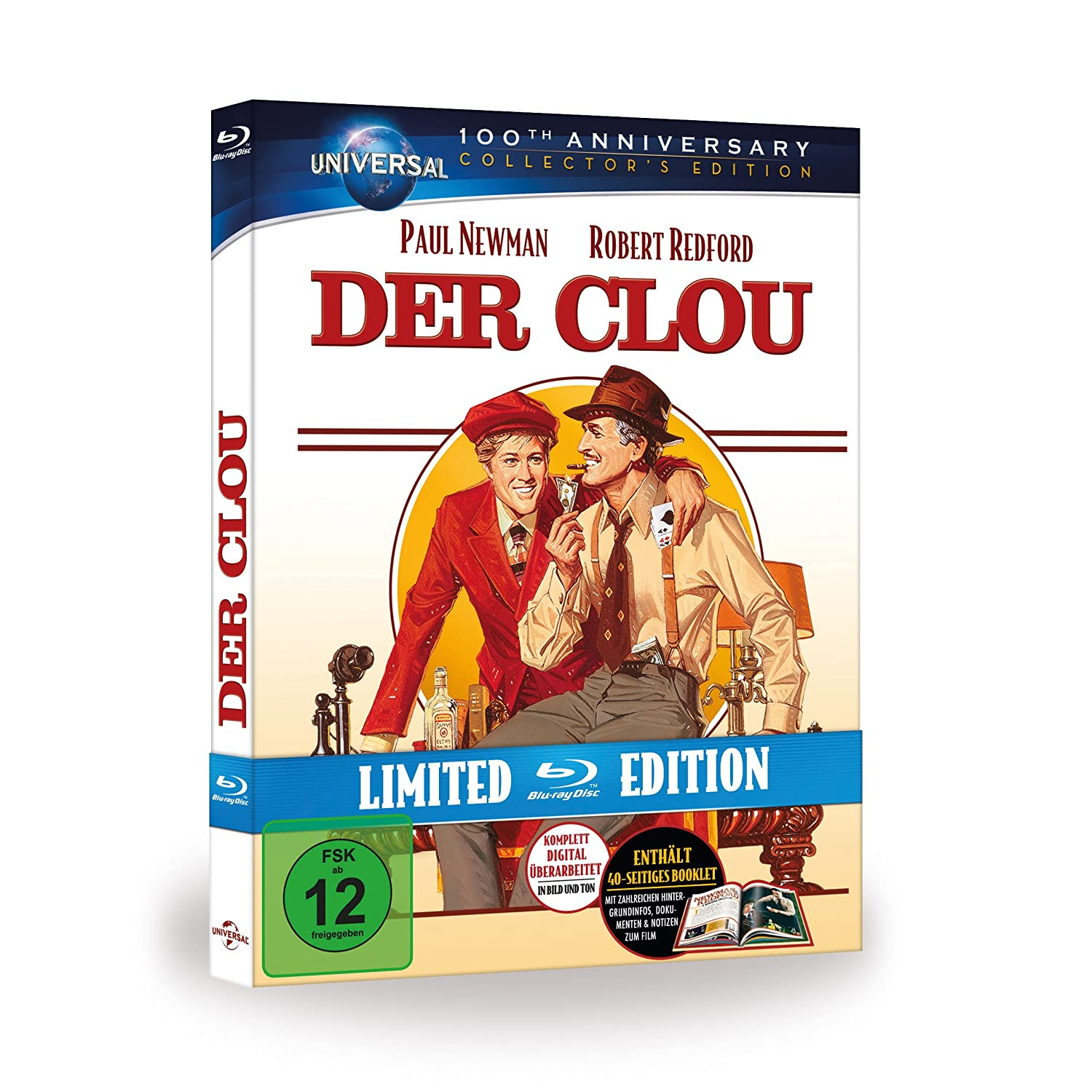 Der Clou, BLU-RAY, Limited Edition, ca. 18 Euro