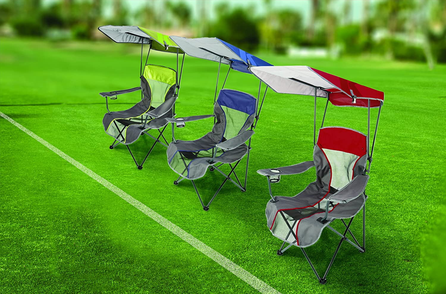 Camping Chairs With Canopy Camping Chair Canopy Outdoor Patio Beach Sports Event