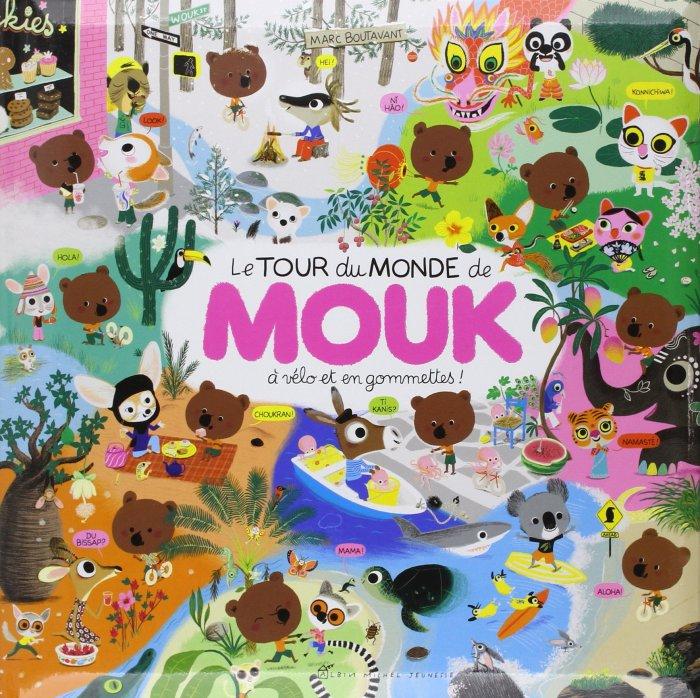 Le Tour Du Monde De Mouk Couverture du livre