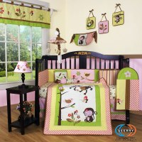 Soho Curious Monkey Baby Bedding and More - Baby Bedding ...