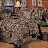 Bedding Sheet Set Realtree All Purpose Camo Camouflage ...
