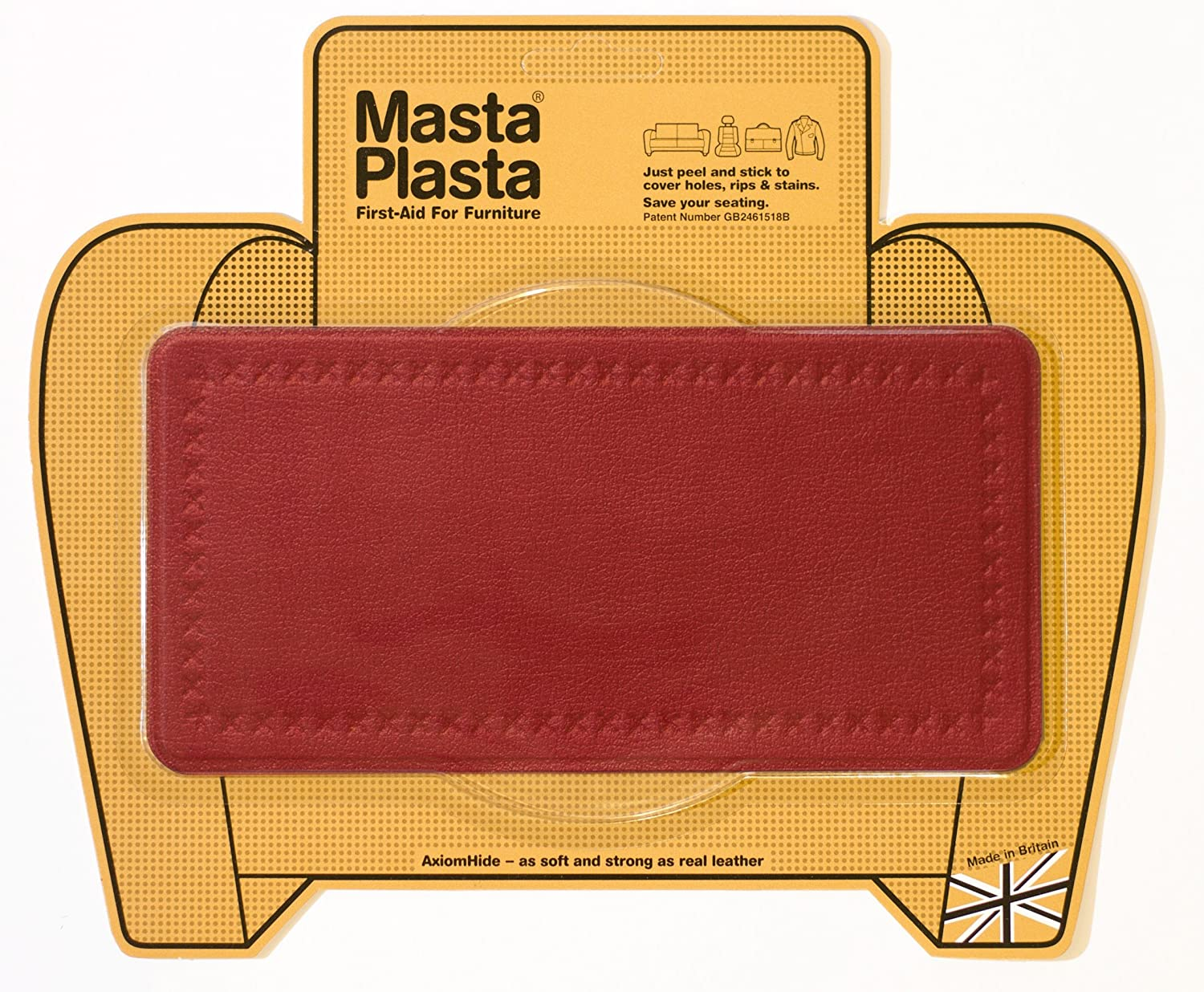 leather sofa repair kits for rips bentley furniture aid peel stick mastaplasta patch holes