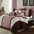 Chic home livingston rose queen 8 pcs comforter set check price