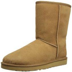 UGG Australia Women's Classic Short Winter Boots,Chestnut,7 US