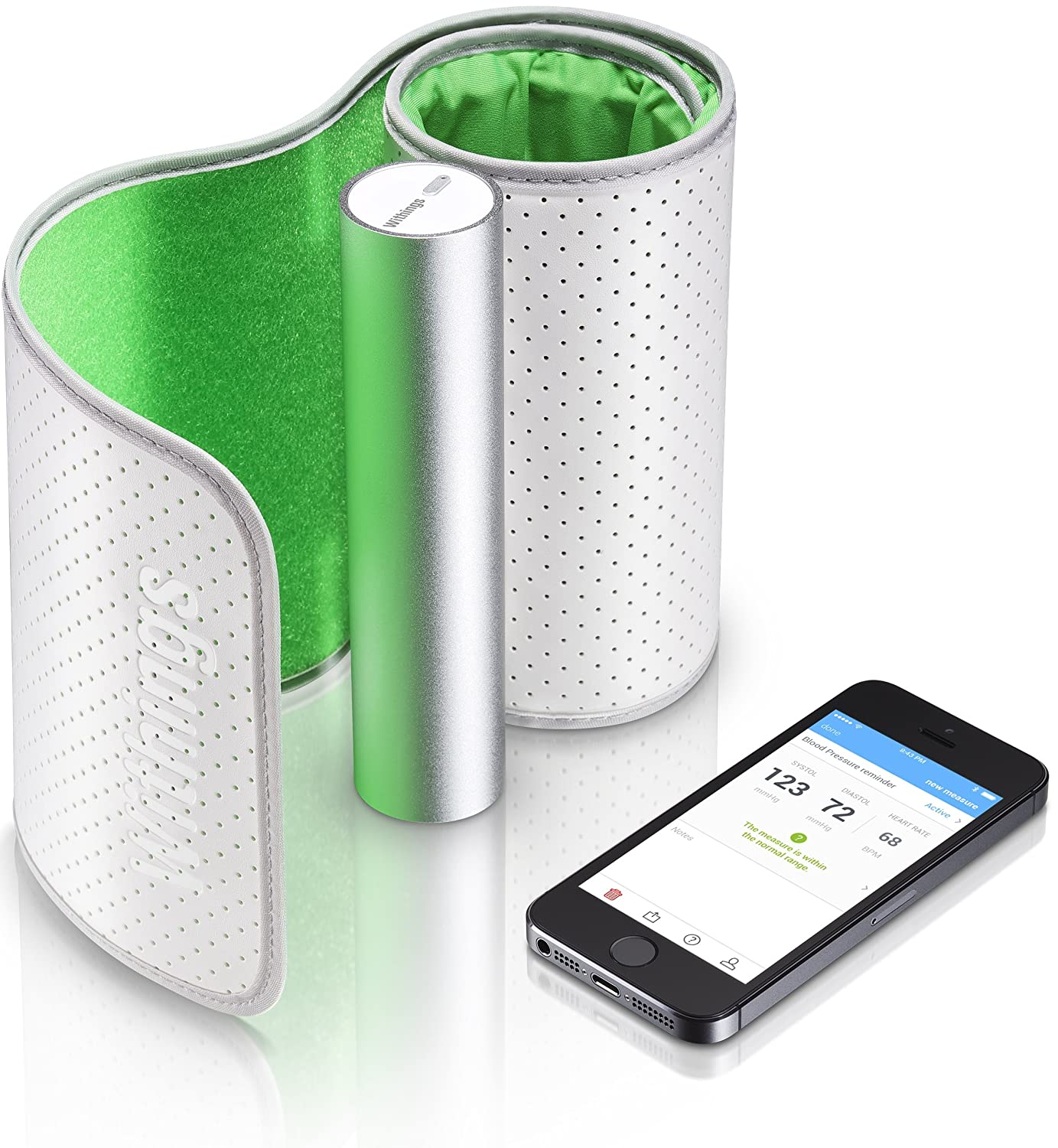 Withings Bluetooth Blood Pressure Cuff