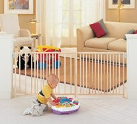 Swing Baby Child Pet Dog Safety Gate Extra Wide Indoor ...