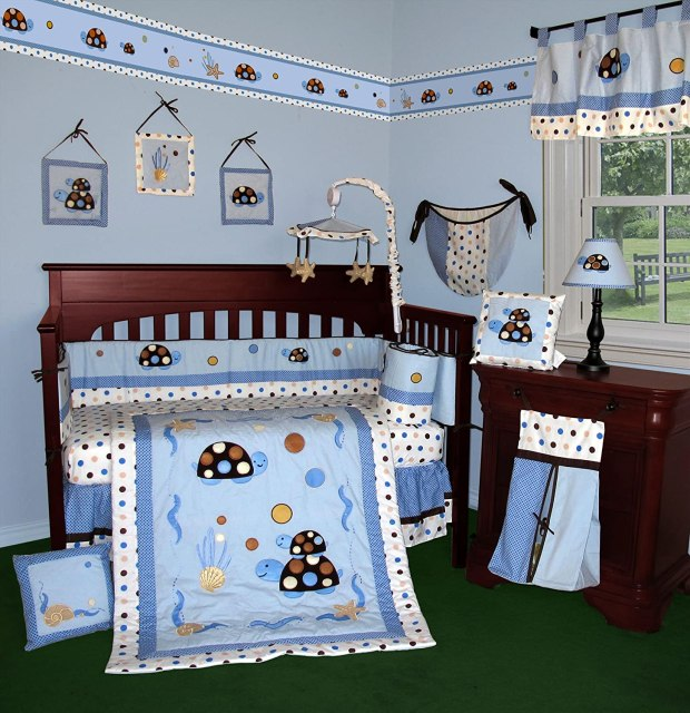 sea turtle baby bedding home design ideas