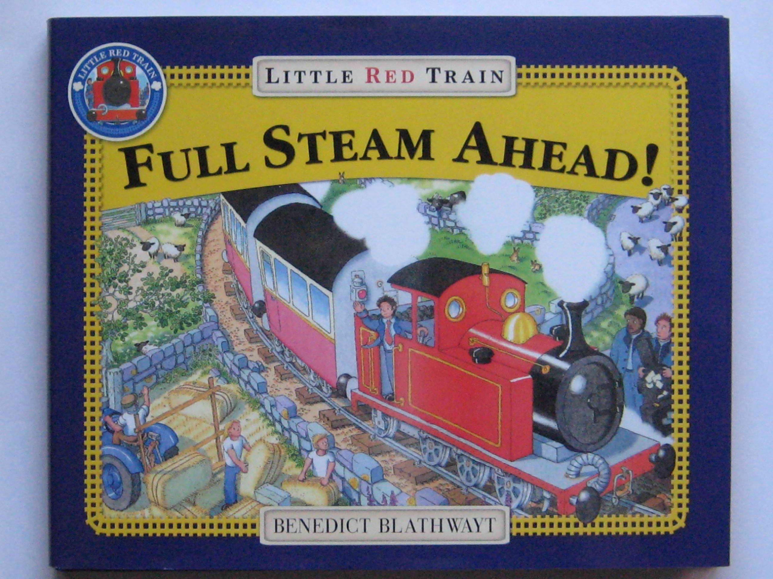 Full Steam Ahead Little Red Train