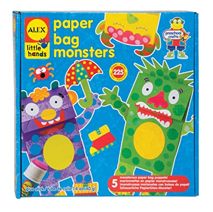 ALEX Toys Little Hands Paper Bag Monsters