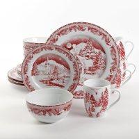 Corelle Livingware Winter Holly Dinnerware - Everything ...