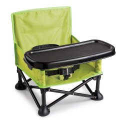 Portable High Chair Booster Side Chairs With Casters New Camping Infant Seat Baby Toddler