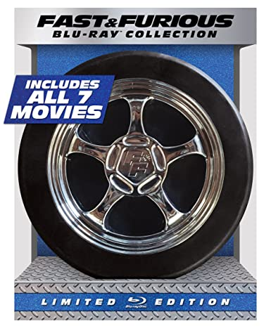 Fast & Furious 1-7 Collection - Limited Edition (Blu-ray + DIGITAL HD with UltraViolet)