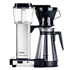Technivorm Moccamaster KBT 10-Cup Coffee Brewer with Thermal Carafe