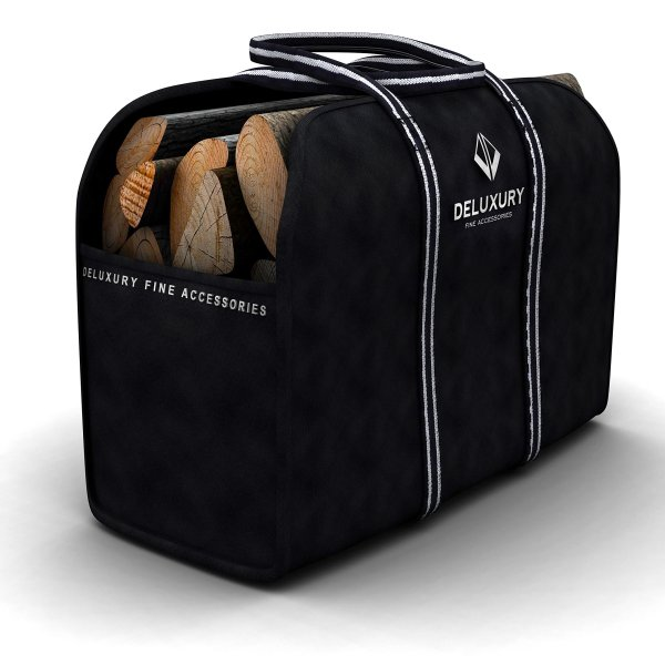 Firewood Carrier - Deluxury Fireplace Accessories Max