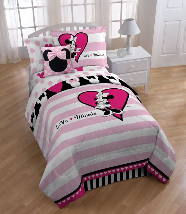 Minnie Mouse Full Bedding Set