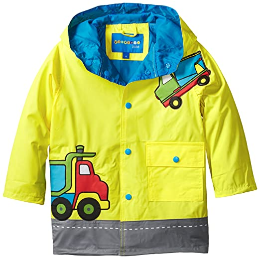 Wippette Little Boys' Dump Truck Rain, Yellow, 4