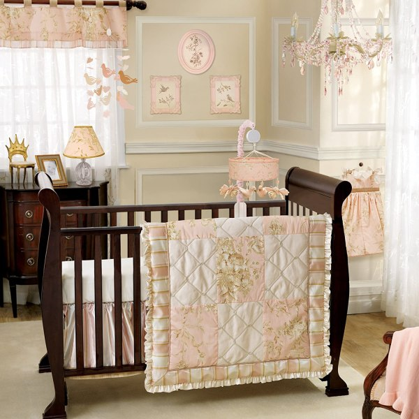 Lambs And Ivy Little Princess Nursery Decor Bedding