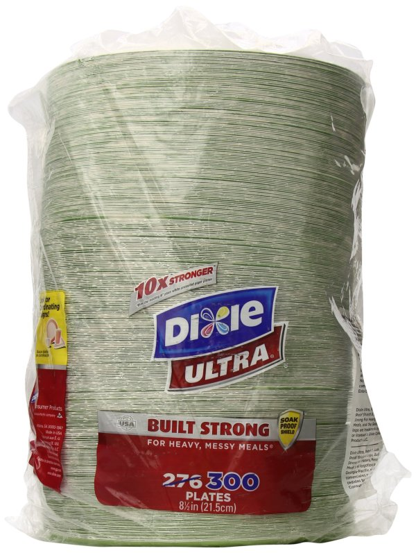 Dixie Ultra Paper Plates 812 Inch 300 Count Latest