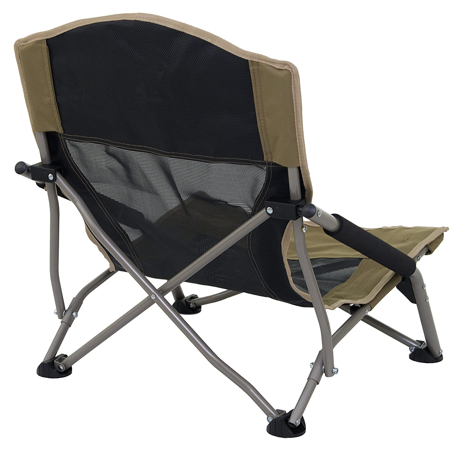 Folding Chair With Arms Camping Folding Carry Bag Chairs Travel Sport Picnic Beach