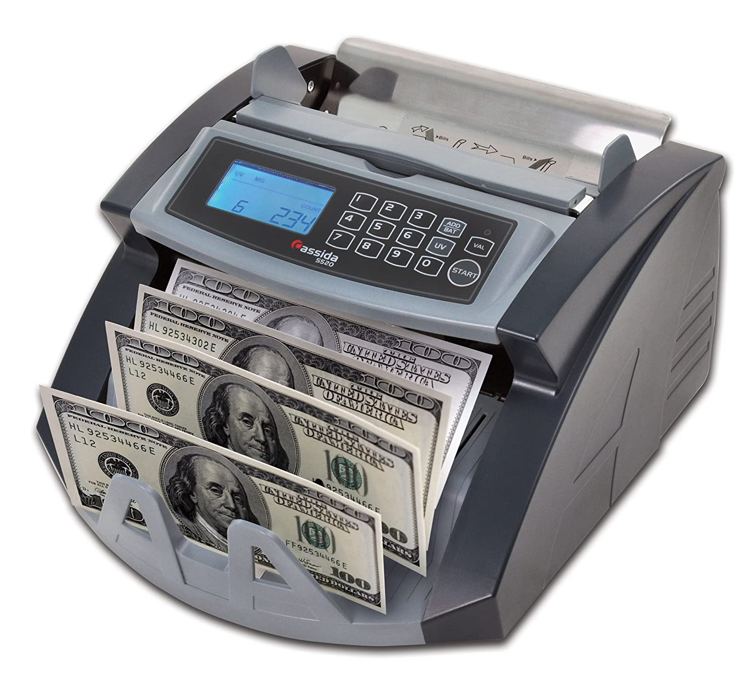 Money Currency Counter Machine Professional Counting Bank