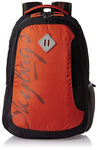 Skybags Leo 26 Ltrs Orange Casual Backpack (BPLEO1ONG)
