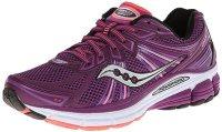 Saucony Women's Omni 13 Running Shoe,Purple/Coral,7.5 M US