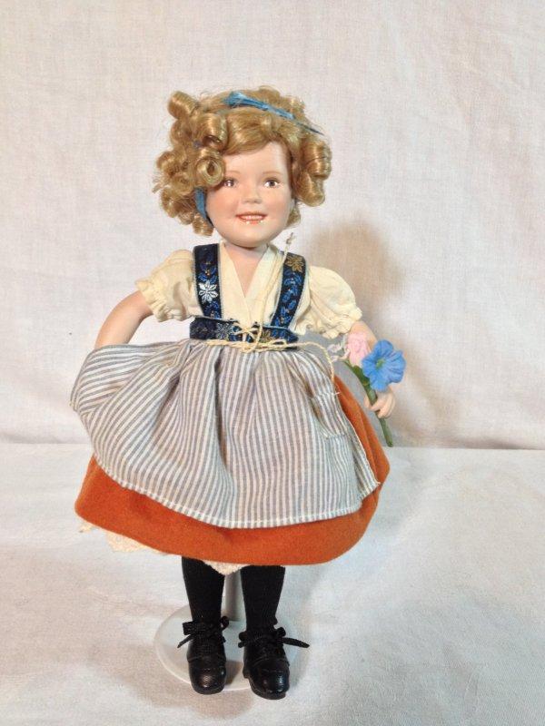 """heidi"" - Porcelain Doll Shirley Temple Movie"