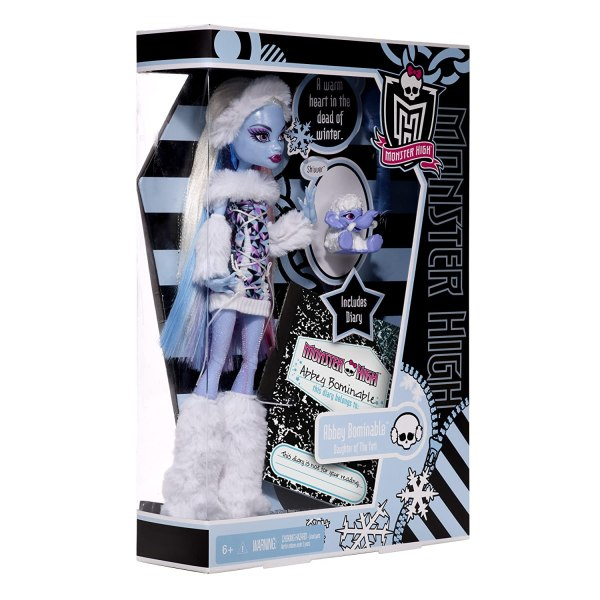 2011 Monster High Abbey Bominable Daughter Of Yeti Pet Shiver 1st Wave Original