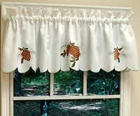 Pine Cone Curtains - Everything Log Homes