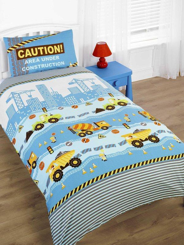 Construction Bedding - Totally Kids Bedrooms Bedroom Ideas