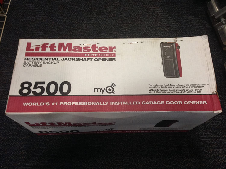 8500 LiftMaster Elite Series® Wall Mount Garage Door Opener UPC 012381850013