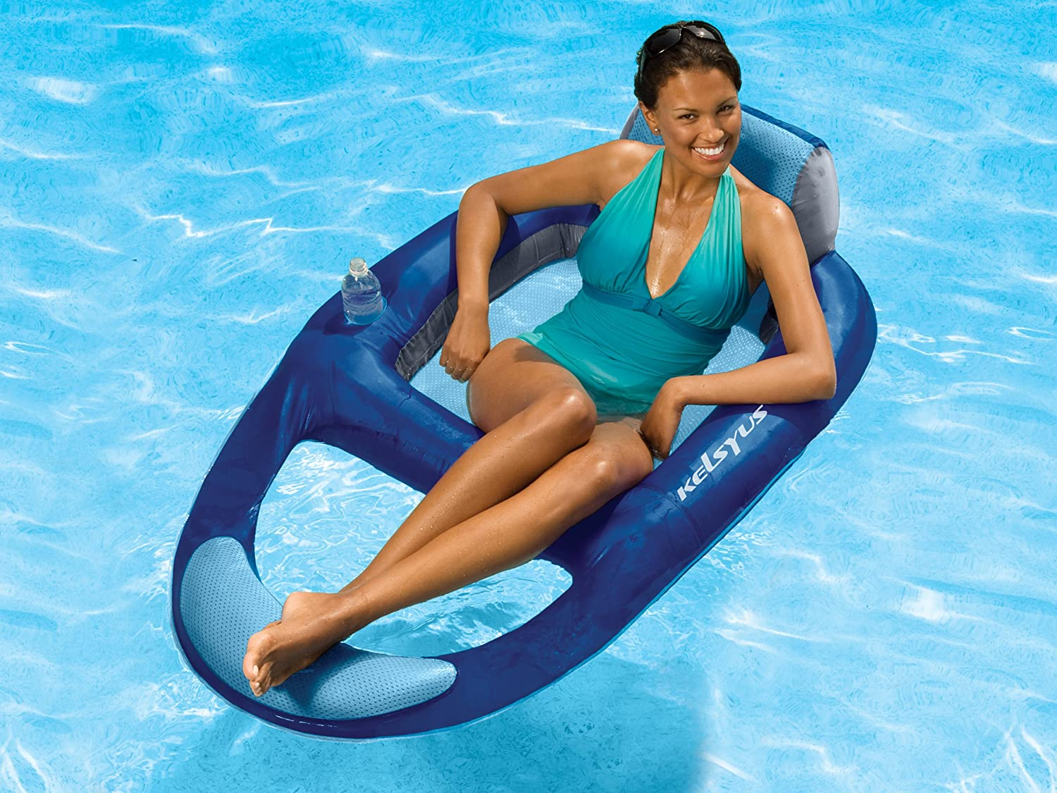 pool floating lounge chair korean massage new inflatable swimming water float