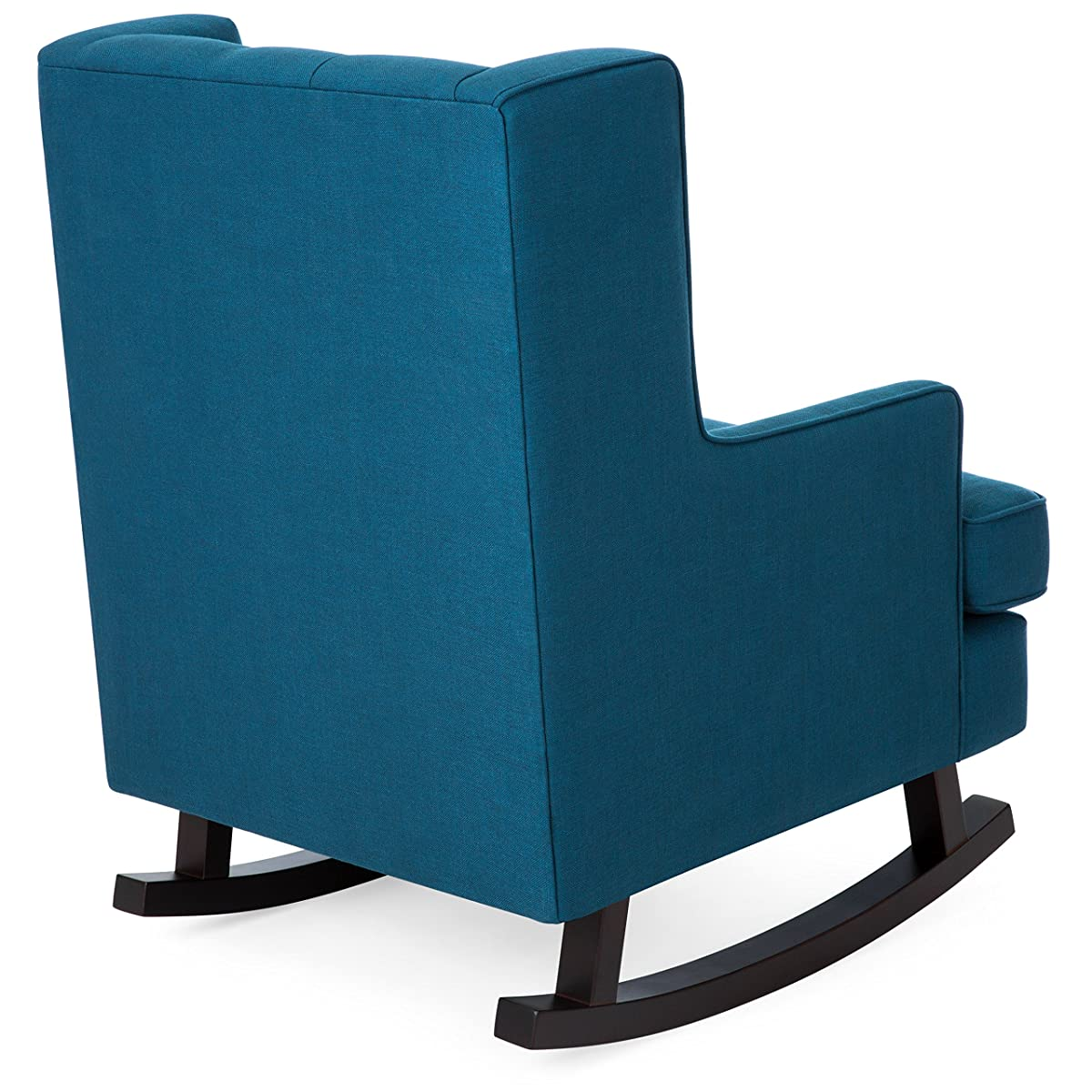Rocking Accent Chairs Best Choice Products Tufted Upholstered Wingback Rocking Accent