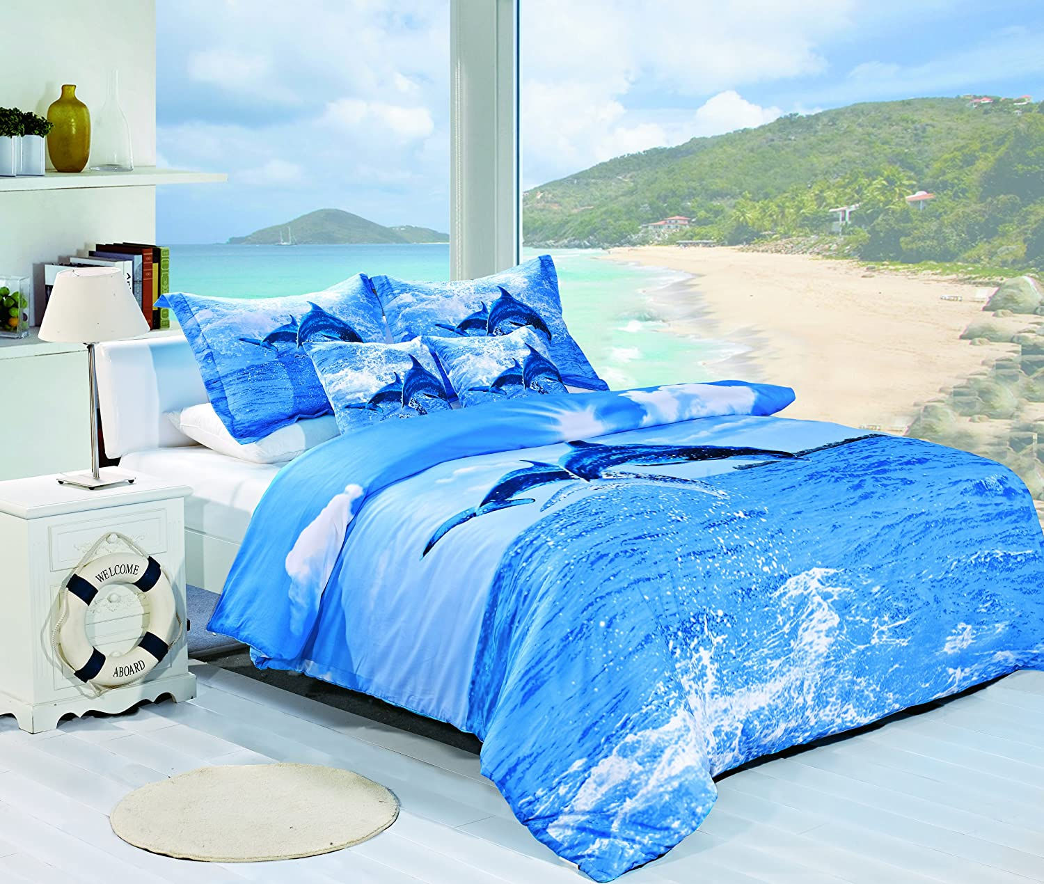 Ocean Bedding for a Touch of the Sea in Your Bedroom