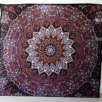 Psychedelic Tapestry Hippie Tapestry Mandala Tapestry Wall ...
