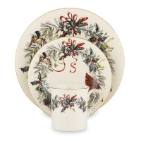 Country Christmas Dinnerware Sets