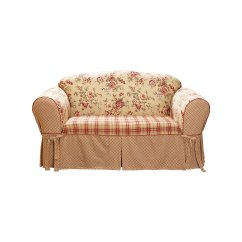 Multi Color Sofa Slipcovers Italian Leather Bay Area Sure Fit Lexington Slipcover Surefit Ebay