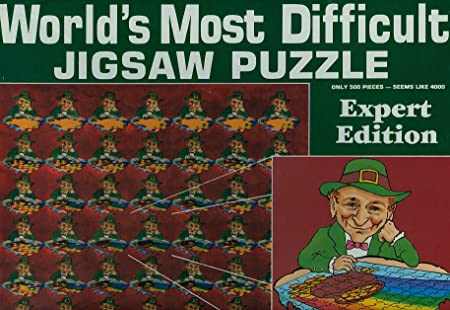 World's Most Dificult Jigsaw Puzzle, Leprechaun Style