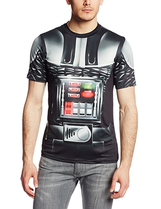 Star Wars Men's Sithness Attire, White Sublimated, X-Large