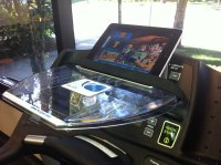 SurfShelf Treadmill Desk: Laptop and iPad Holder -- New | eBay
