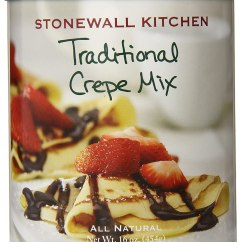 Stonewall Kitchen Free Shipping Building An Outdoor Traditional Crepe Mix 16 Ounce New