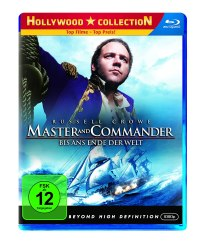 Master and Commander, Film, Review, Rezension, DVD, Blue Ray, Cover
