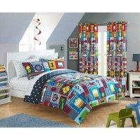 Kid's Cars Transportation Comforter Set - 7 Piece Child's ...