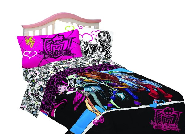 Monster High Comforter And Sheet Sets Beautiful Bedroom